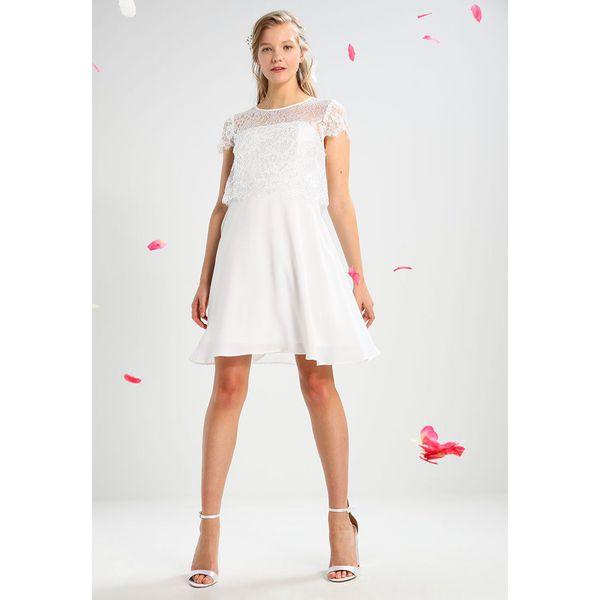dcf48c12 Vero Moda VMBEKAH DRESS Sukienka koktajlowa snow white