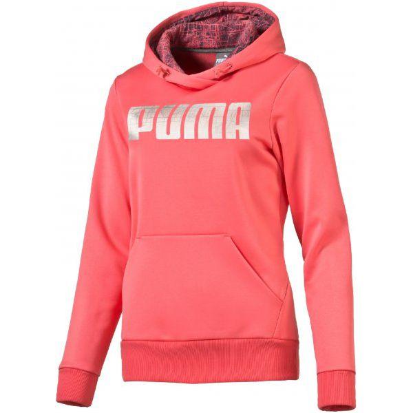 17f11f2adc0c80 Puma Bluza Elevated Poly Fl Hoody W Sunki M - Bluzy z kapturem Puma ...