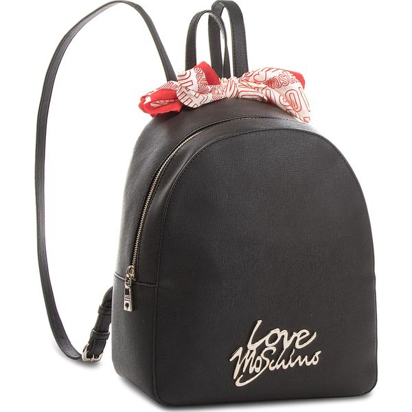 407d8c6ec34e5 Plecak LOVE MOSCHINO - JC4052PP15LE000B Nero Oro - Czarne plecaki ...