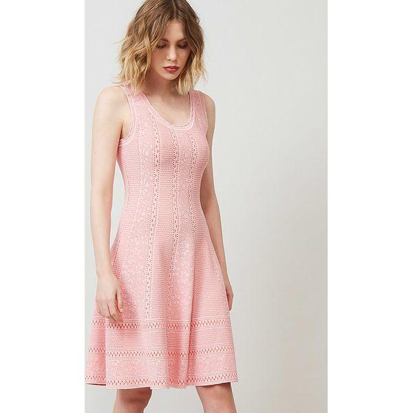 edd39d62a Sukienka w kolorze brzoskwiniowym - Brązowe sukienki marki Rodier ...