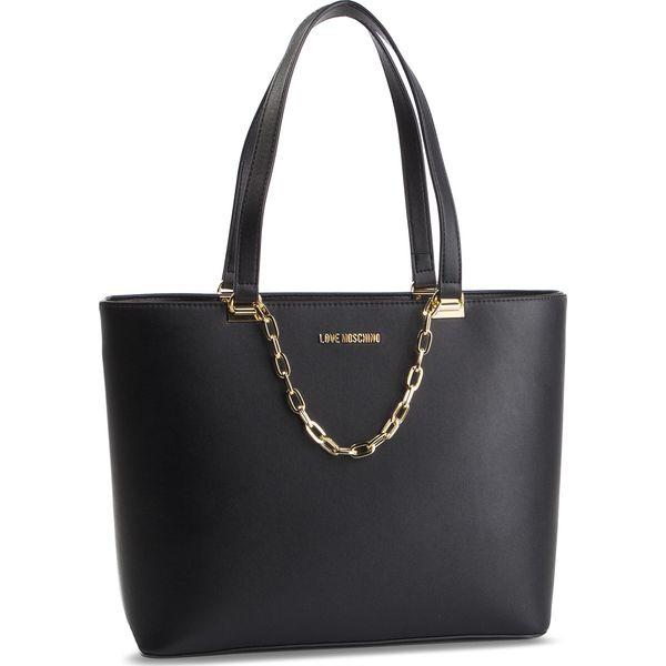 fc6b5637178b1 Torebka LOVE MOSCHINO - JC4306PP07KQ0000 Nero - Shopper bag marki ...