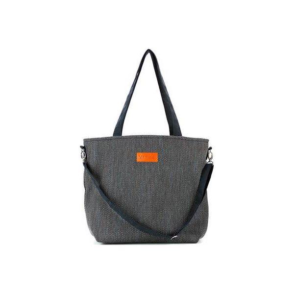 fea9d5bc48b01 Duża torba typu shopper Mili Duo Braid MDB1 - black - Shopper bag ...