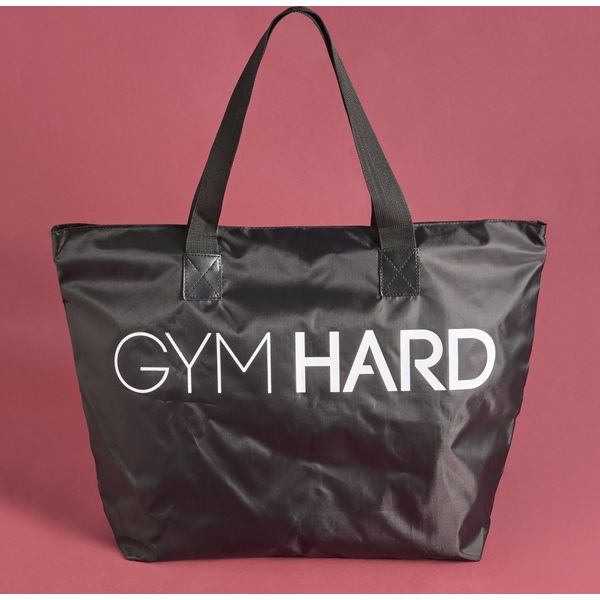 Torba sportowa Gym Hard - Czarny - Torby sportowe marki Sinsay. Za ... 56cca9928ab7f