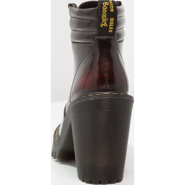 f69354bd0 Dr. Martens PERSEPHONE 6 EYE PADDED COLLAR BOOT ARCADIA Botki na ...
