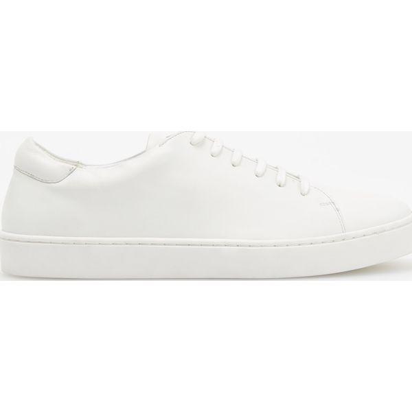 c3ffcc0b6835d Sportowe buty ze skóry - Biały - Buty treningowe marki Reserved. Za ...