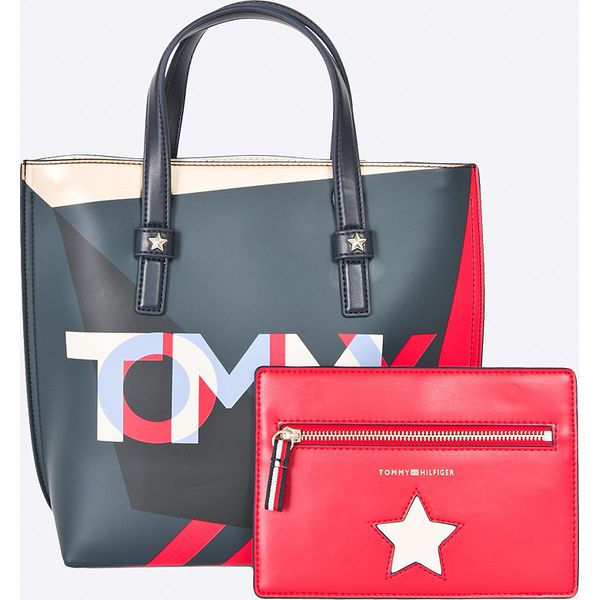 9b7361f356db9 Tommy Hilfiger - Torebka - Szare torebki klasyczne marki Tommy ...