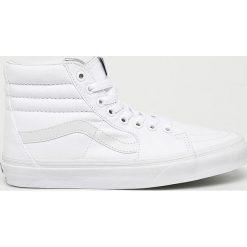 Białe półbuty damskie Vans, bez zapięcia Kolekcja wiosna
