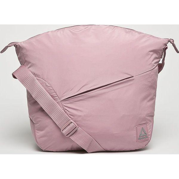 9e38b08a42682 Reebok - Torba - Szare torby sportowe marki Reebok, w paski, z ...