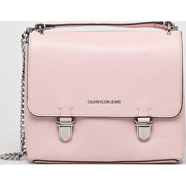 06593ea5f4c5b Calvin Klein - Torebka - Szare torebki klasyczne Calvin Klein