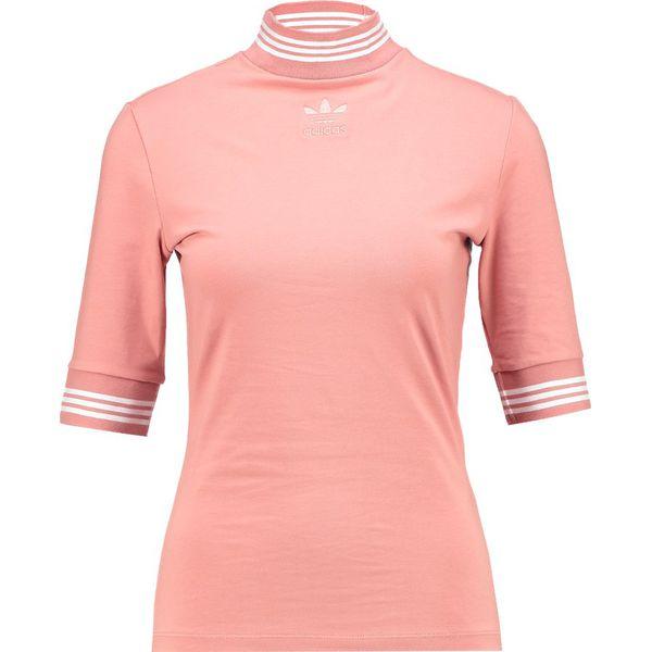 957a35c32b9b48 adidas Originals Tshirt z nadrukiem ash pink - Czerwone t-shirty ...