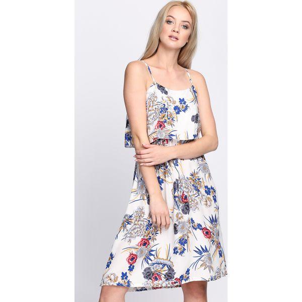 e50811bc9d Biała Sukienka Flavescent - Białe sukienki marki Born2be
