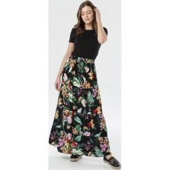 Długa spódnica w kwiaty Spódnice Kolekcja wiosna 2020