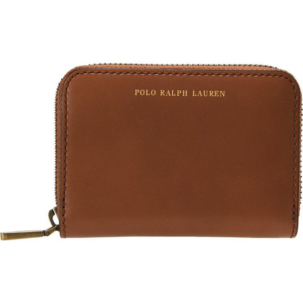 cbc54fdee57a1 Polo Ralph Lauren AMY ZIP WALLET Portfel saddle - Portfele marki ...