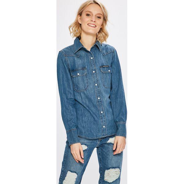 90cde53b6 Calvin Klein Jeans - Koszula - Koszule marki Calvin Klein Jeans. W ...
