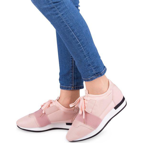 Buty sportowe damskie NM 16 515 1 Różowe