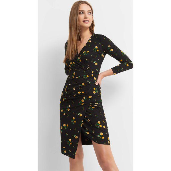 15deda372d Kopertowa sukienka w kwiaty - Sukienki marki Orsay. W wyprzedaży za ...
