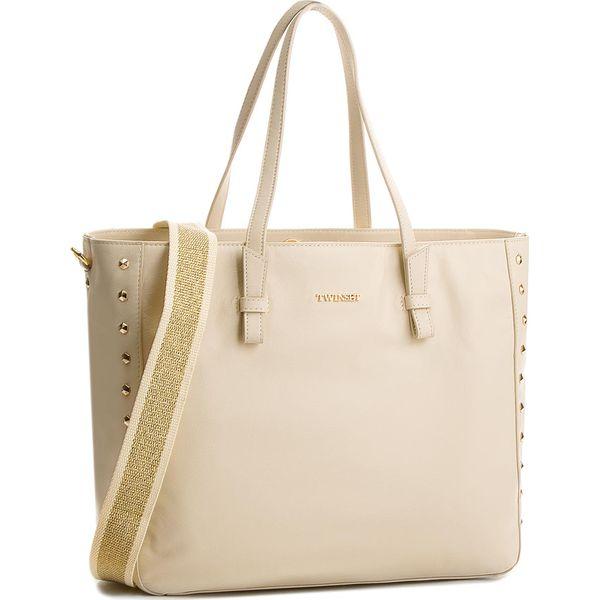 ca8c5e712b30a Torebka TWINSET - Shoping OS8TBC Dune 00416 - Shopper bag marki ...