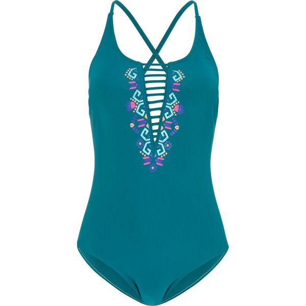 51f262018f84 Kostium kąpielowy bonprix niebieskozielony morski - Stroje ...
