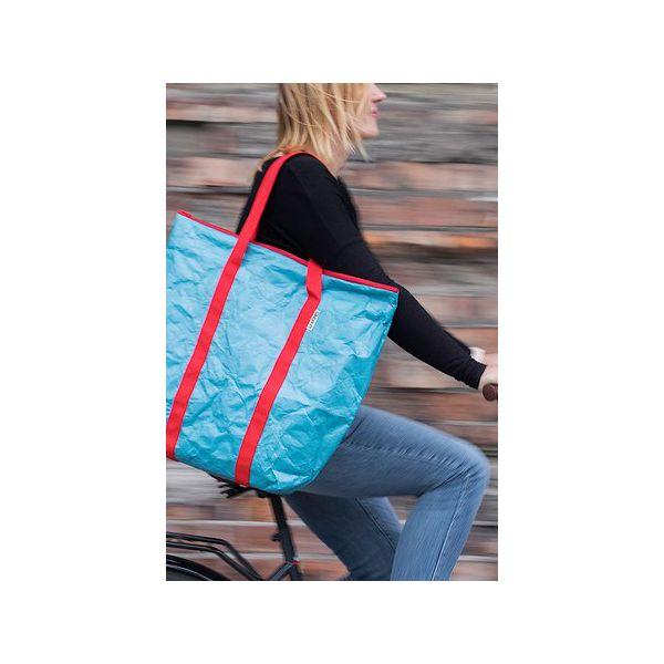 314f0c1fce0d0 Duża turkusowa torba z Tyveku® - Torebki klasyczne marki Oneones ...