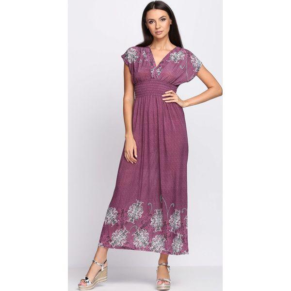 01238562df Fioletowa Sukienka Cold Coffee - Sukienki marki Born2be. Za 54.99 zł ...