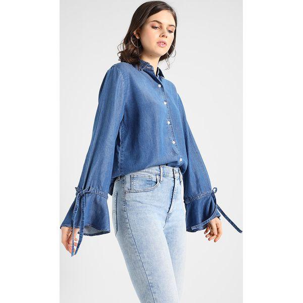 f649bbd91 Levi's® TIE SLEEVE Koszula light wash - Niebieskie koszule marki ...