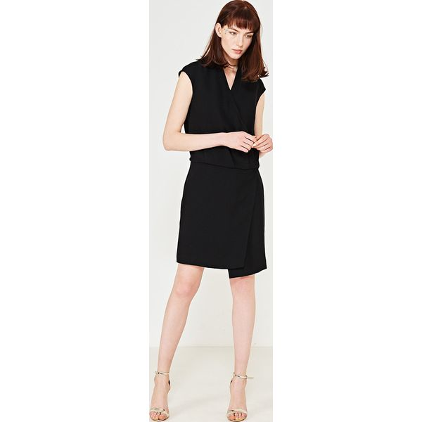 1547654bdd3413 Simple - Sukienka - Szare sukienki marki Simple, l, z poliesteru ...