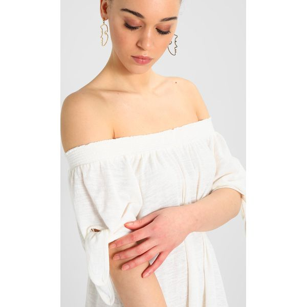 07f6aef38a Roxy BRIGHT BLUE SKY Sukienka letnia marshmallow - Białe sukienki ...