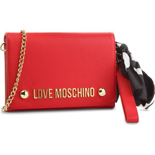 1d7d0ee412c6d Torebka LOVE MOSCHINO - JC4313PP06KU0500 Rosso - Czerwone kopertówki ...