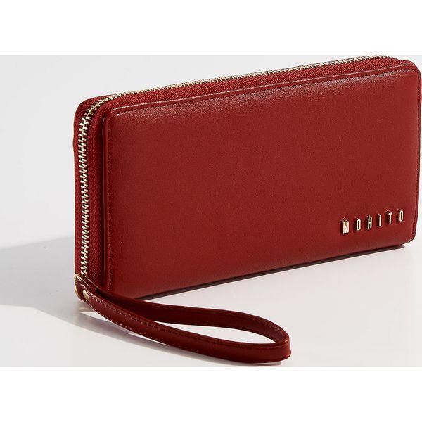 a47ca8171477e Elegancki portfel z przegrodami - Czerwony - Portfele marki Mohito ...