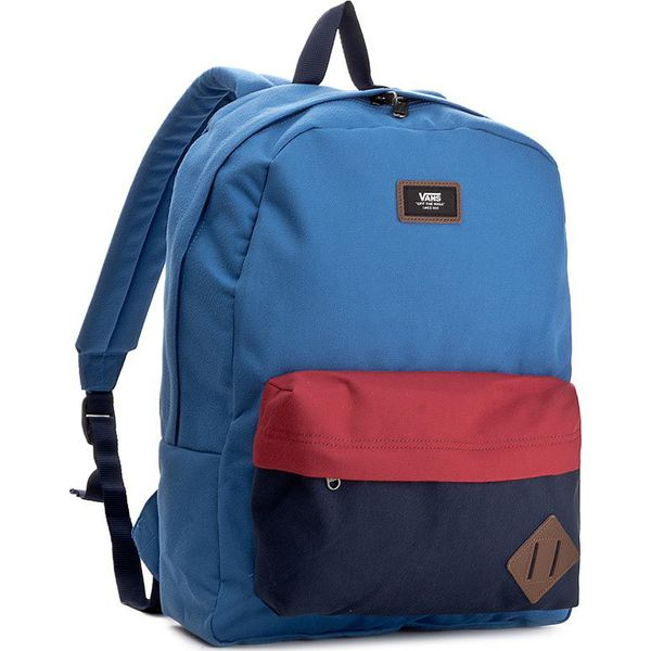 638cc0decc3f4 Plecak VANS - Old Skool II Backpack VN000ONIO9R Granatowy - Plecaki ...