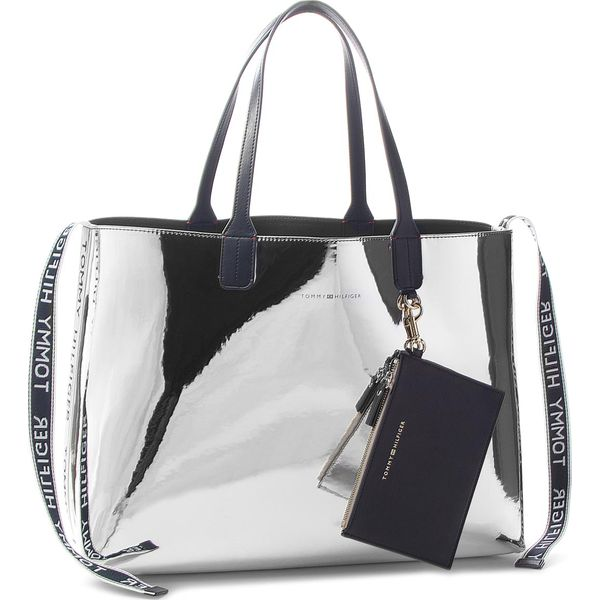 31e7c7980c3e1 Torebka TOMMY HILFIGER - Iconic Tommy Tote Mt AW0AW05830 907 ...