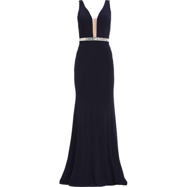 cedcd07abc Mascara Długa sukienka navy - Moda w Women s Health