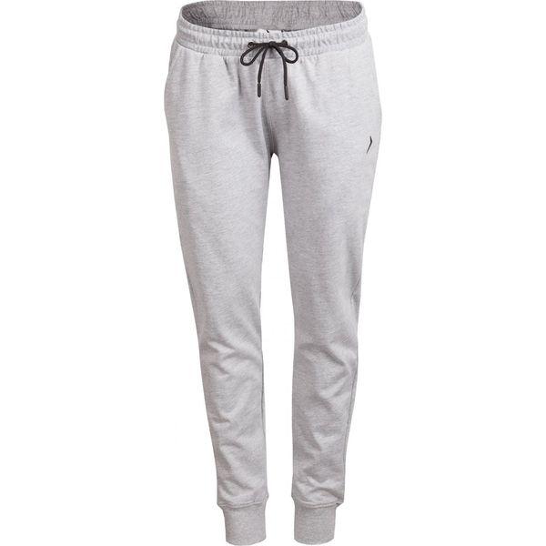 73695d85 Spodnie dresowe damskie SPDD600 - chłodny jasny szary melanż - Outhorn
