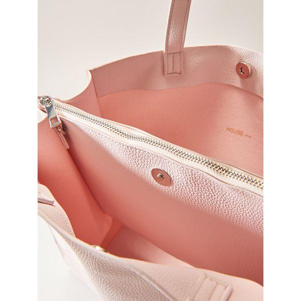 b67933321d619 Minimalistyczna torba typu shopper - Różowy - Czerwone shopper bag ...