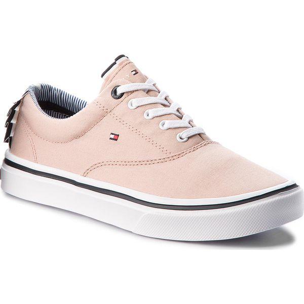 cc851948a5558 Tenisówki TOMMY HILFIGER - Textile Light Weight Sneaker FW0FW02809 ...