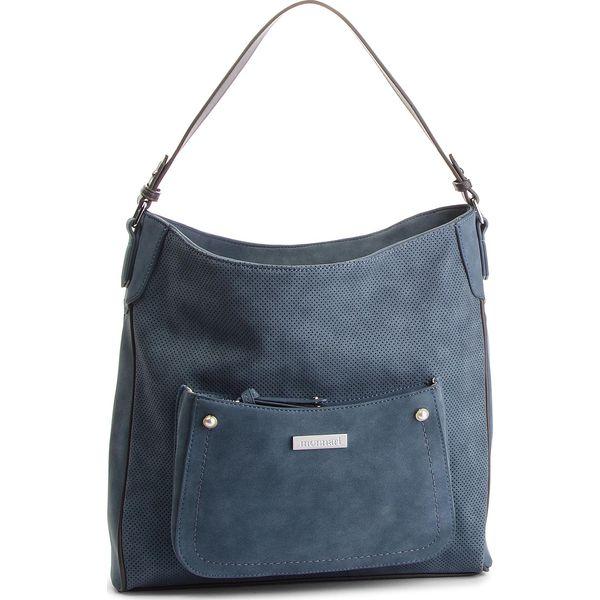 f6212d82831cd Torebka MONNARI - BAG3340-012 Blue - Niebieskie torebki klasyczne ...