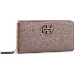 57f7480092f2e Duży Portfel Damski TORY BURCH - Mcgraw Continental Wallet 41847 Silver  Maple 963. Portfele marki