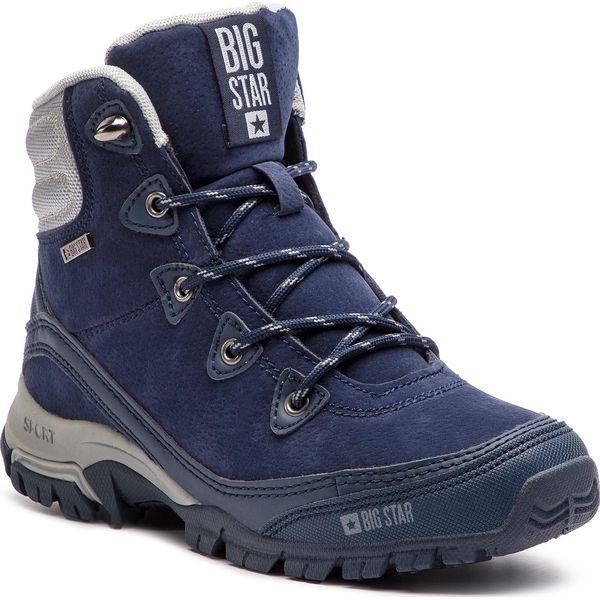 90f0c104 Trekkingi BIG STAR - BB274626 Granat - Buty trekkingowe BIG STAR. W ...
