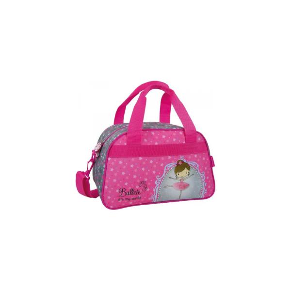 a8dcdc332f5fd Derform Torba podróżna Baletnica 10 (DERF.TPBL10) - Różowe torby ...