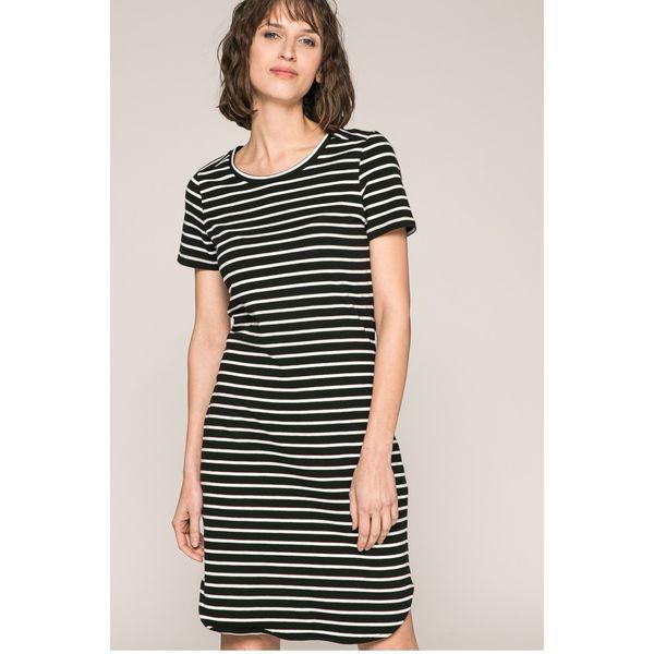 57fbac3a7564d9 Noisy May - Sukienka - Szare sukienki marki Noisy May, na co dzień ...