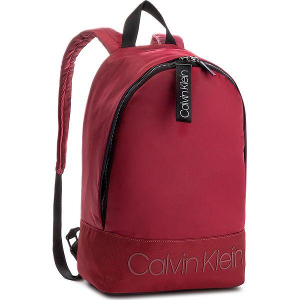60a00b0892d70 Plecak CALVIN KLEIN - Shadow Round Backpac K50K503905 628 - Czerwone ...