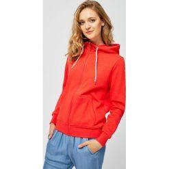 Czerwone bluzy z kapturem Kolekcja wiosna 2020 Moda w