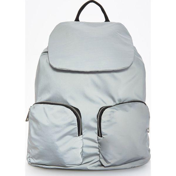 0b31aecfc4eb7 Plecak z odblaskowego materiału - Srebrny - Plecaki marki Reserved ...