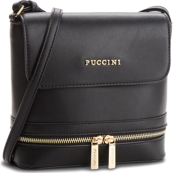 b062880a8a4a8 Torebka PUCCINI - BT18498 Black 1 - Czarne listonoszki marki Puccini. W  wyprzedaży za 109.00 zł. - Listonoszki - Torebki - Akcesoria damskie -  Odzież