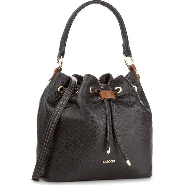 69312e876d8f2 Torebka LASOCKI - VS4285 Czarny - Czarne torebki klasyczne marki ...