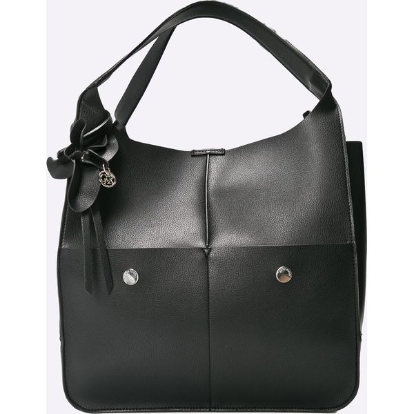 8f83160a9ee1c Gino Rossi - Torebka Dejavu - Czarne torebki klasyczne marki Gino ...