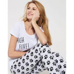 791896b8921551 ... Dwuczęściowa piżama z nadrukiem - Wielobarwn. Szare piżamy House, l,  bez wzorów,