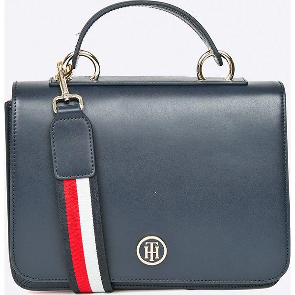 1adff31221217 Tommy Hilfiger - Torebka - Szare torebki klasyczne marki Tommy ...