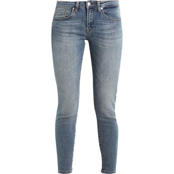 dbe98569 Selected Femme SFIDA CROPPED Jeans Skinny Fit medium blue denim ...