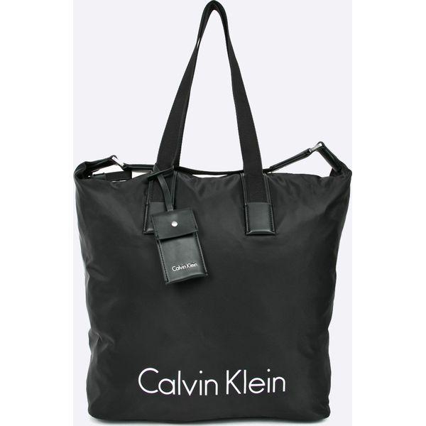 becc38854bf3e Calvin Klein Jeans - Torebka - Czarne torebki klasyczne marki Calvin ...